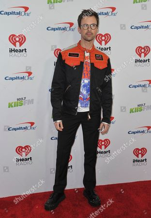Brad Goreski arrives at Jingle Ball, at the Forum in Inglewood, Calif