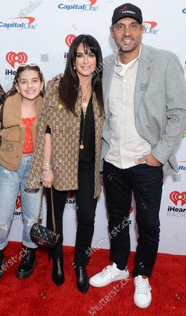 Kyle Richards, Portia Umansky and Mauricio Umansky