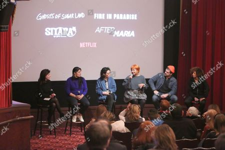 Caryn James, Sharmeen Obaid-Chinoy, Ariel Wengroff, Farihah Zaman, Zackary Canepari, Nadia Hallgren