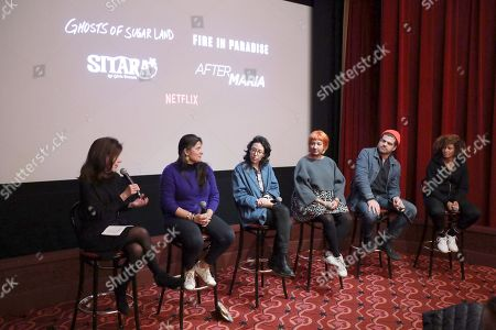 Editorial picture of Sitara and Doc Shorts NY Screening Q&A and Reception, New York, USA - 06 Dec 2019
