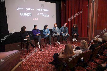 Editorial image of Sitara and Doc Shorts NY Screening Q&A and Reception, New York, USA - 06 Dec 2019