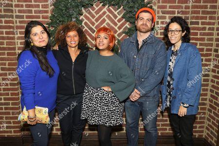Sharmeen Obaid-Chinoy, Nadia Hallgren, Farihah Zaman, Zackary Canepari, Ariel Wengroff