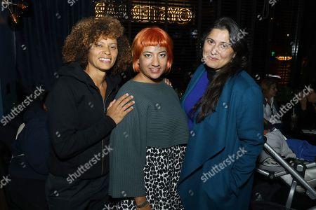 Stock Image of Nadia Hallgren, Farihah Zaman, Sharmeen Obaid-Chinoy
