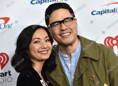 Stock Image of Randall Park and Jae Suh Park