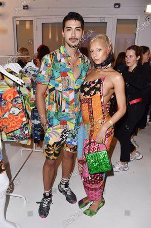 Model and Jazzelle Zanaughtti