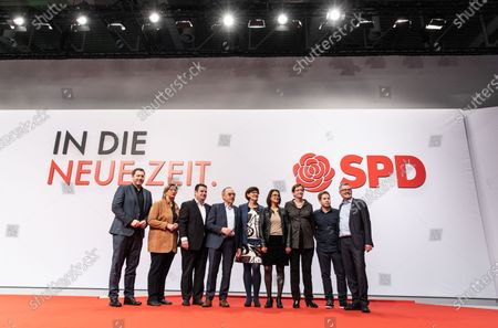Editorial photo of SPD party convention venue tour, Berlin, Germany - 07 Dec 2019