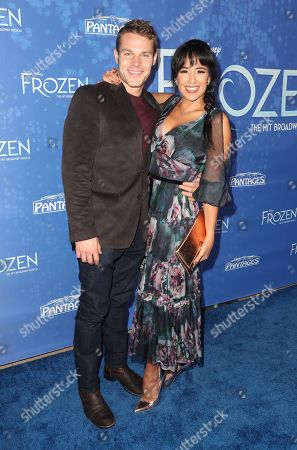 Editorial image of 'Frozen: The Musical' at the Hollywood Pantages Theatre, Los Angeles, USA - 06 Dec 2019