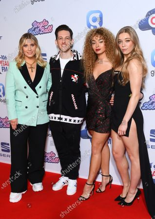 Stock Image of Ella Henderson, Sigala, Ella Eyre and Becky Hill