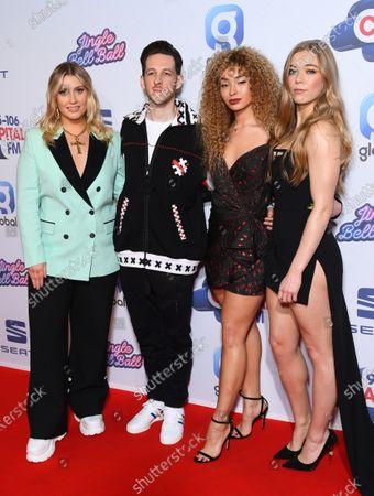 Ella Henderson, Sigala, Ella Eyre and Becky Hill