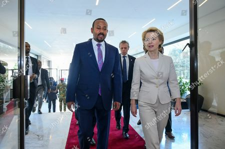 Editorial image of European Commission President, Addis Ababa, Ethiopia - 07 Dec 2019