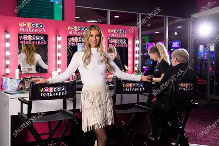 Editorial picture of Ferne McCann launches Mecca Makeover at Mecca Bingo hall, Wood Green, London, UK - 07 Dec 2019