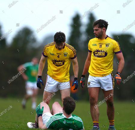 Wexford vs Westmeath. Alex Lynch of Wexford with Westmeath's Sean Forde