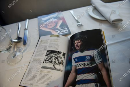 Commercial and marketing  Clive Allen in the match day programme