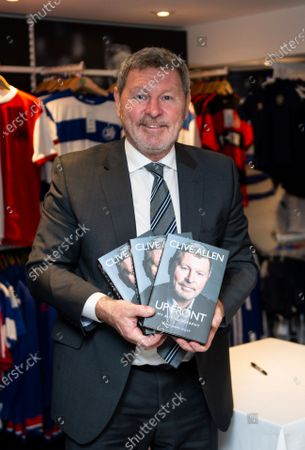 Clive Allen book signing in the club shop