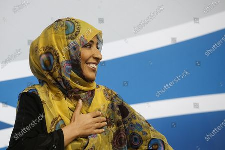 Yemeni Tawakkol Karman, Nobel Peace Prize Laureate, attends the MED Conference closing remarks at Parco dei Principi Hotel in Rome, Italy, 07 December 2019. The 5th edition of the MED, an initiative for high-level dialogue on issues regarding the Mediterranean, runs in Rome from 05 to 07 December.