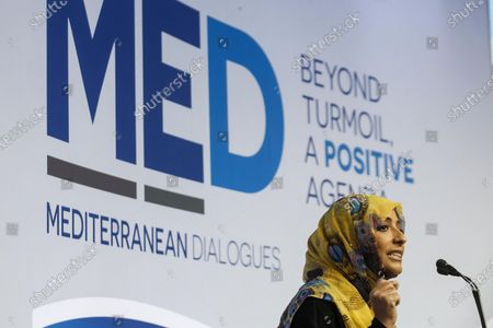 Editorial photo of Rome Med 2019 - Mediterranean Dialogues, Italy - 07 Dec 2019