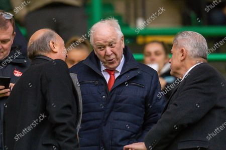 Former Scotland and Aberdeen manager Craig Brown in the stand before the Ladbrokes Scottish Premiership match between Hibernian FC and Aberdeen FC at Easter Road, Edinburgh