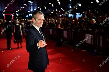 Stock Picture of German actor and President of the German Film Academy, Ulrich Matthes, poses on the red carpet of the 32nd European Film Awards ceremony in Berlin, Germany, 07 December 2019.