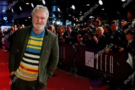 Stock Photo of Detlev Buck (L) poses on the red carpet of the 32nd European Film Awards ceremony in Berlin, Germany, 07 December 2019.