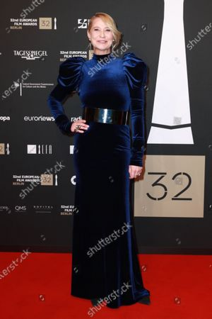 Member of cast of the film 'Queen of Hearts', Danish actress Trine Dyrholm attends the red carpet of the 32nd European Film Awards ceremony in Berlin, Germany, 07 December 2019.