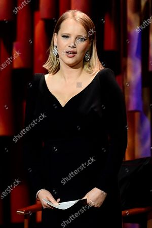 Joanna Kulig attends the 32nd European Film Awards ceremony in Berlin, Germany, 07 December 2019.