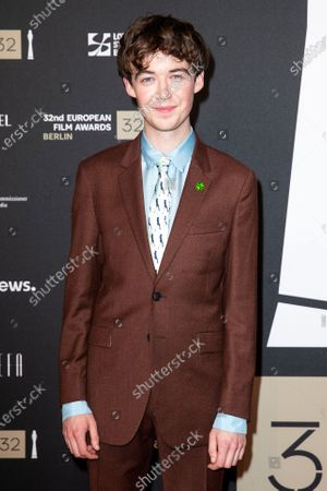 Alex Lawther attends the red carpet of the 32nd European Film Awards ceremony in Berlin, Germany, 07 December 2019.