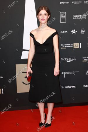 Liv Lisa Fries attends the red carpet of the 32nd European Film Awards ceremony in Berlin, Germany, 07 December 2019.