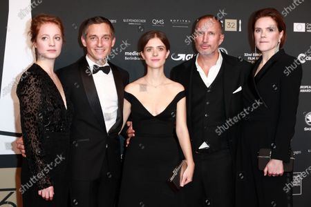 Leonie Benesch, Volker Bruch, Liv Lisa Fries, Benno Fuehrmann and Fritzi Haberlandt attend the red carpet of the 32nd European Film Awards ceremony in Berlin, Germany, 07 December 2019.