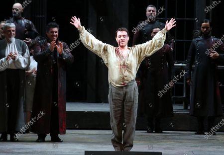 Editorial image of La Scala opera house's gala season opener, Milan, Italy - 07 Dec 2019