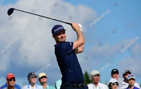 Editorial image of Hero World Challenge Golf, Nassau, Bahamas - 07 Dec 2019