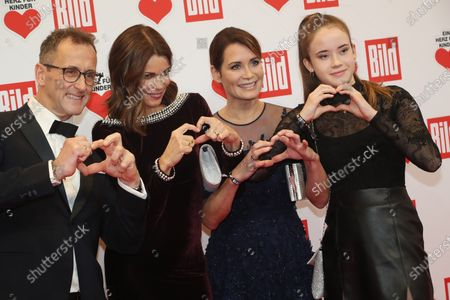 Editorial image of A Heart for Children charity gala in Berlin, Germany - 07 Dec 2019