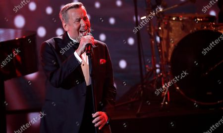 German singer Roland Kaiser performs during the 'Ein Herz Fuer Kinder' (lit: A Heart for Children) gala show in Berlin, Germany, 07 December 2019. German television channel ZDF and newspaper 'Bild' collected donations for children's charity organizations in Germany and the whole world.