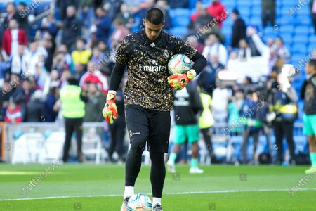 Alphonse Areola of Real Madrid