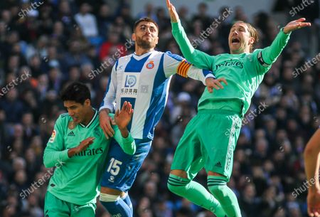 Editorial photo of Real Madrid v Espanyol, La Liga, Football, Santiago Bernabeu stadium, Madrid, Spain - 07 Dec 2019