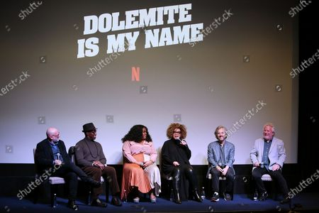 Stock Image of Wesley Sniples, Da'Vine Randolph, Ruth Carter, Scott Alexander, Larry Karaszewski