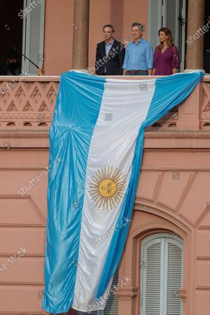Editorial picture of Macri says goodbye to his supporters in the Plaza de Mayo of Buenos Aires, Argentina - 07 Dec 2019