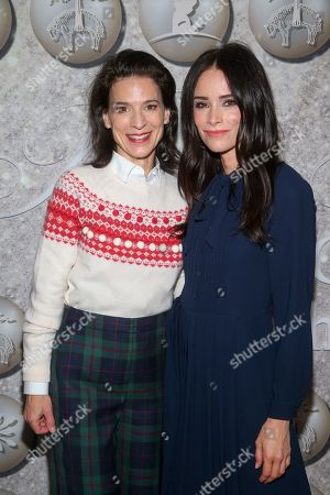 Stock Picture of Perrey Reeves and Abigail Spencer