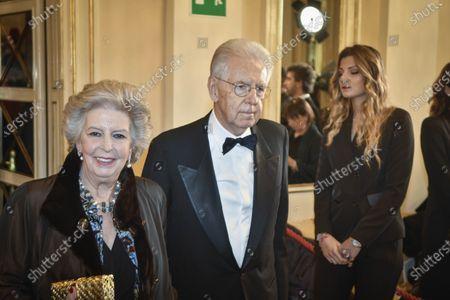 Elsa Antonioli and Mario Monti