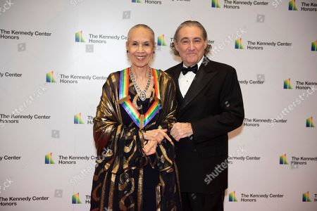 Carmen de Lavallade, Charles Mirotznik. 2017 Kennedy Center Honoree Carmen de Lavallade, left, and Charles Mirotznik arrive at the State Department for the Kennedy Center Honors State Department Dinner, in Washington