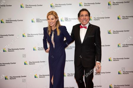 Stephen Wynn, Andrea Wynn. Stephen Wynn and his wife Andrea Wynn arrive at the State Department for the Kennedy Center Honors State Department Dinner, in Washington