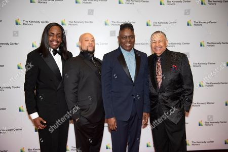 Ralph Johnson, Verdine White, Kahbran White Philip Bailey, Ralph Johnson. 2019 Kennedy Center Honorees Earth, Wind & Fire members, from left, bassist Verdine White, Kahbran White, singer Philip Bailey and percussionist Ralph Johnson arrive at the State Department for the Kennedy Center Honors State Department Dinner, in Washington. Earth, Wind & Fire founder Maurice White died in 2016
