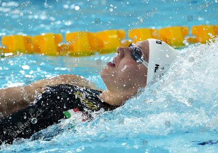 Katinka Hosszu (HUN) winner of 200 meter individual medley