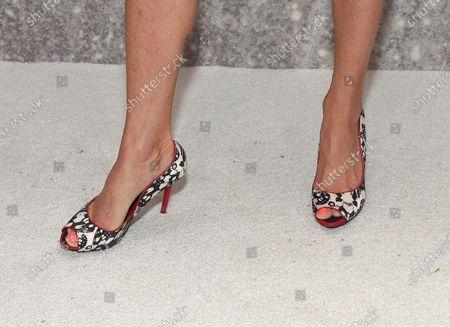 Tricia Helfer, shoe detail