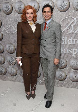 Christina Hendricks and Zac Posen