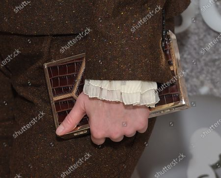Stock Picture of Christina Hendricks, bag detail