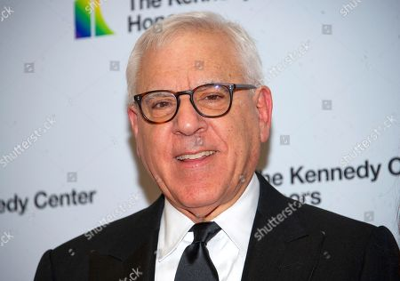 Stock Photo of David M. Rubenstein arrives for the formal Artist's Dinner honoring the recipients of the 42nd Annual Kennedy Center Honors at the United States Department of State.