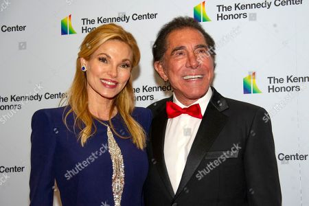 Steve Wynn and his wife, Andrea, arrive for the formal Artist's Dinner honoring the recipients of the 42nd Annual Kennedy Center Honors at the United States Department of State.