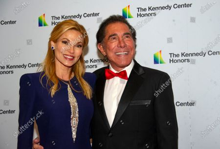 Steve Wynn and his wife, Andrea, arrive for the Artist's Dinner, honoring the recipients of the 42nd Annual Kennedy Center Honors, at the United States Department of State in Washington, DC, USA, 07 December 2019. The 2019 honorees were Earth, Wind & Fire, Sally Field, Linda Ronstadt, Sesame Street and Michael Tilson Thomas.