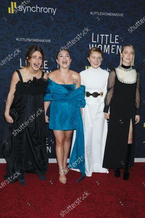 Emma Watson, Florence Pugh, Eliza Scanlen, Saoirse Ronan