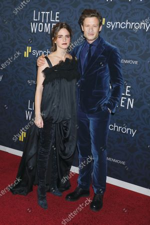 Stock Picture of Emma Watson and James Norton
